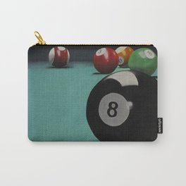 Billiard Balls Carry-All Pouch