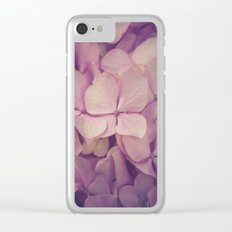 111 - Soft details Clear iPhone Case