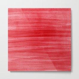 Beautiful Red Metal Print