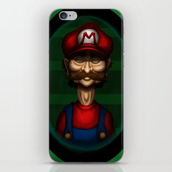 Sad Mario iPhone & iPod Skin