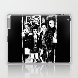 Alternative fashion and leather jacket style at the club Laptop & iPad Skin