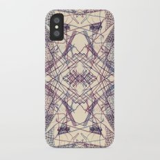 Kaleidoscopic Trip iPhone X Slim Case