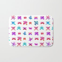 Teeny Butteflies Bath Mat