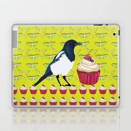 Magpies and Cupcakes Laptop & iPad Skin