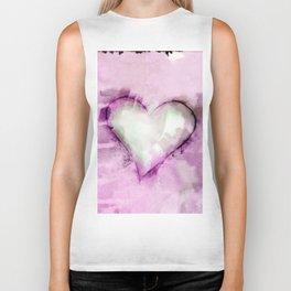 Love Unfolding No.26I by Kathy Morton Stanion Biker Tank