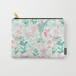 Flirt Mint Blush Carry-All Pouch