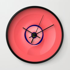 Suspended sculpture Wall Clock