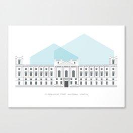 100 Parliament Street, London Canvas Print