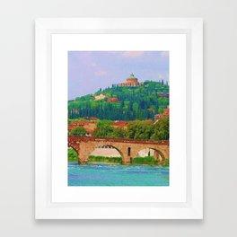 Verona Framed Art Print