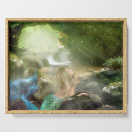 Mermaid Cave Serving Tray