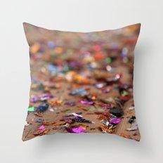 Glitter II Throw Pillow