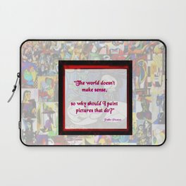 """Picasso Philosophy"" by surrealpete Laptop Sleeve"