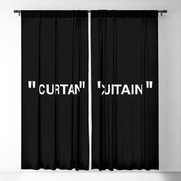 """ Art "" (Negative) Blackout Curtain"