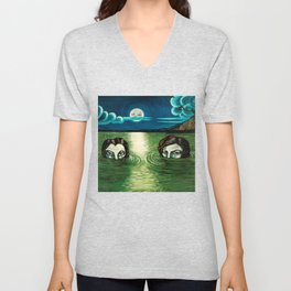 DRIVE BY TRUCKERS LIVE TOUR DATES 2019 EHSAN Unisex V-Neck