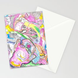 Lo sguardo nella mente Stationery Cards