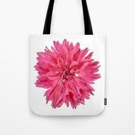 Pink Cornflower Tote Bag