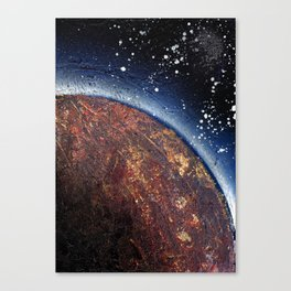smoldering planet (Small Space 22) Canvas Print