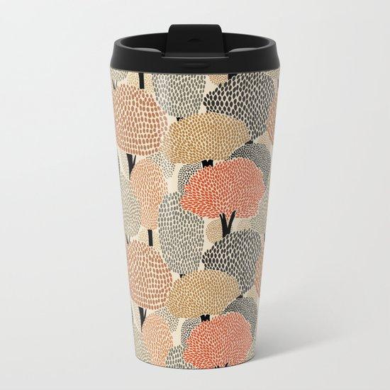 Autumn forest Metal Travel Mug