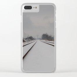 Polar Express. Clear iPhone Case