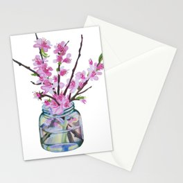 Mandelblüte Stationery Cards