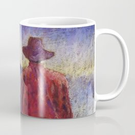 Solitude Original Art Pastel Painting Coffee Mug