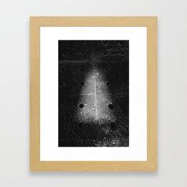 Drain Framed Art Print