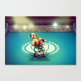 Punch-Out!! Canvas Print