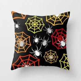 Creepy Crawlers Throw Pillow