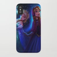 frozen iPhone & iPod Cases featuring frozen by KATIE PAYNE
