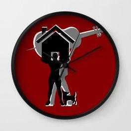 I am a strong stromgman  Wall Clock