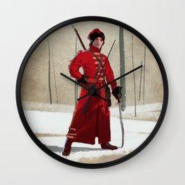 Russian Cossack Wall Clock