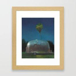 Airstream at Dusk Framed Art Print