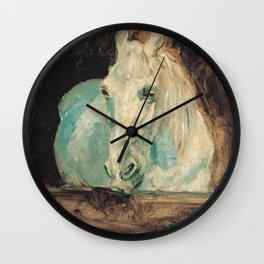 Henri De Toulouse Lautrec - The White Horse Gazelle Wall Clock
