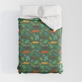 Salamanders Duvet Cover