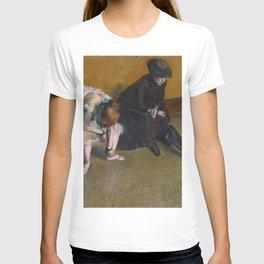 Edgar Degas - Waiting T-shirt