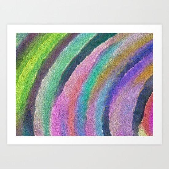 Color Arc Art Print