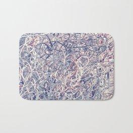 Digital Pollocks Bath Mat