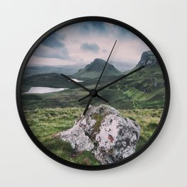 Up in the Clouds III Wall Clock