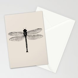 Botanical Line - Dragonfly Stationery Cards
