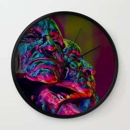 Faces of Extasy Wall Clock