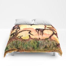 Horizon Zero Dawn Landscape Comforters