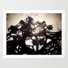 Sound Sculpture 01 Art Print
