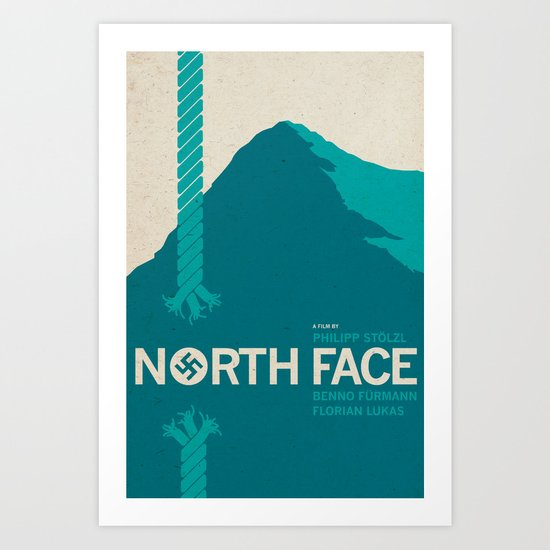 North Face Art Print