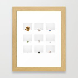 Untitled - Three (Construction Archives, Esthétique) Framed Art Print