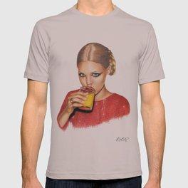 Lindsay At 9 AM T-shirt