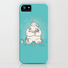 Hairy Baby Day Care Center iPhone Case