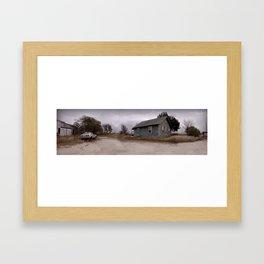 Abandoned in Texas Framed Art Print