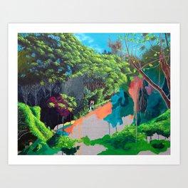 Sirius Cove Reserve Art Print