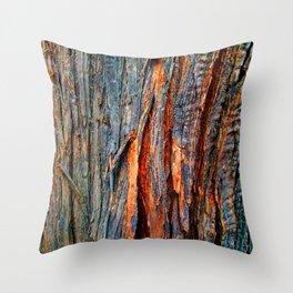 Bark Texture 22 Throw Pillow