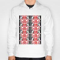 maori Hoodies featuring  Maori Kowhaiwhai Traditional Pattern  by mailboxdisco